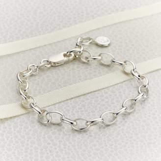 Molly Brown London Sterling Silver Starter Charm Bracelet