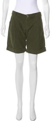 Dolce & Gabbana Mid-Rise Knee-Length Shorts