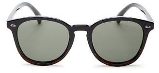 Le Specs Women's Bandwagon Polarized Round Sunglasses, 51mm