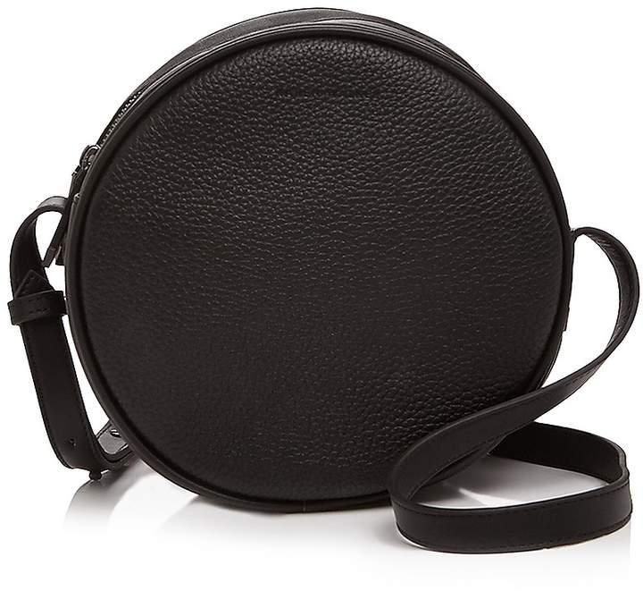 Karen Walker Suzi Round Mini Leather Crossbody