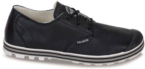 Palladium Slim Oxford Women's Blk Leather