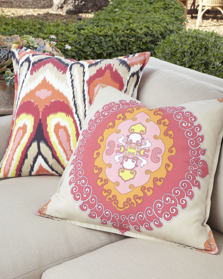 Trina Turk Flanged Pillows