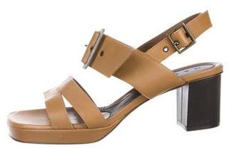 Marni Leather Ankle Strap Sandals w/ Tags