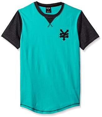 Zoo York Men's Short Sleeve Impulse V Neck Knit Shirt