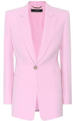 Versace Tribute silk blazer