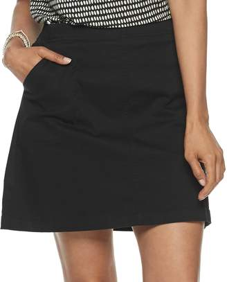 Croft & Barrow Women's Pull-On Skort