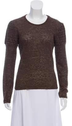 Christian Lacroix Bazar de Lightweight Knit Sweater