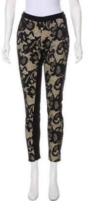 Diane von Furstenberg Lendra Mid-Rise Skinny Pants