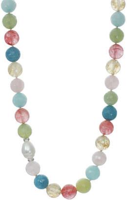 J&H DESIGNS ROX by Alexa Multi-Gemstone Beaded Necklace