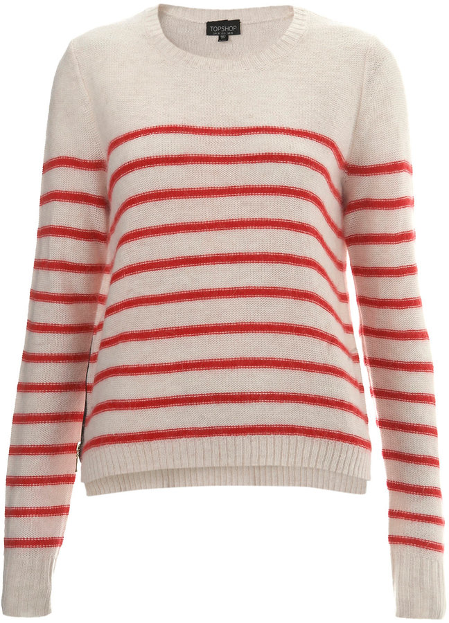 Knitted Mix Stripe Jumper