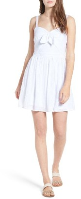 Women's Love, Nickie Lew Tie Front Eyelet Dress $55 thestylecure.com