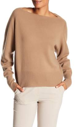 Vince Cashmere Boatneck Pullover Sweater