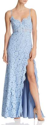 Fame & Partners The Kirsten Lace Bustier Gown