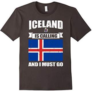 Iceland calling me gifts T-Shirt