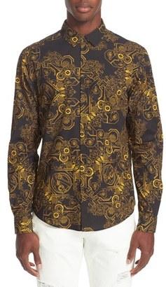 Men's Versace Jeans Print Woven Shirt $325 thestylecure.com