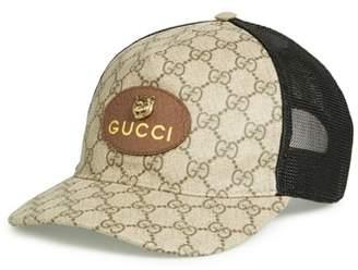 Gucci GG Supreme Patch Trucker Hat