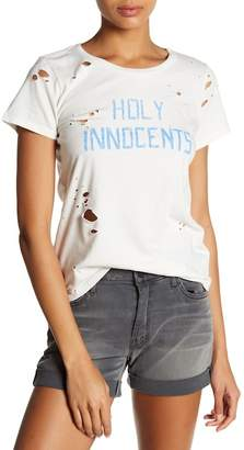 Mother Itty Bitty Goodie Goodie Destroyed Cotton Tee