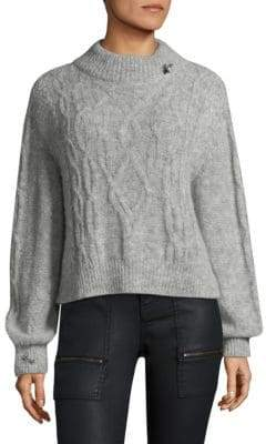 Joie Brooched Garlan Sweater
