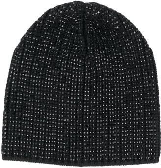Ermanno Scervino knitted studded hat
