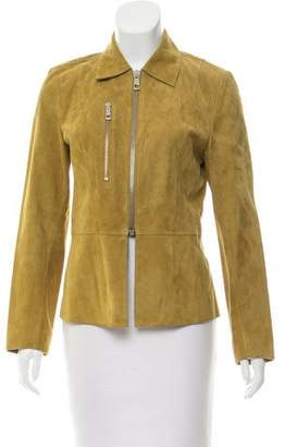 Whistles Suede Zip-Up Jacket