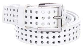 Roland Mouret Perforated Leather Belt