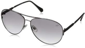 Kenneth Cole New York Women's KC7158W6108B Aviator Sunglasses