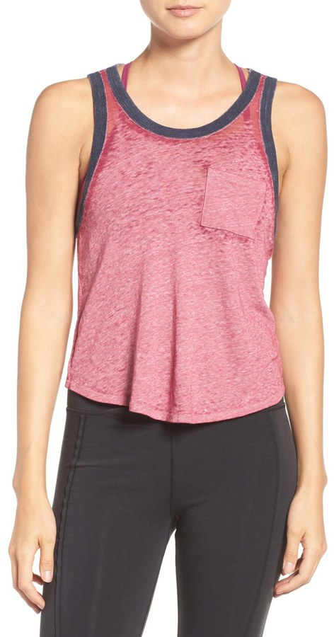 Free People Axl Racerback Burnout Tank