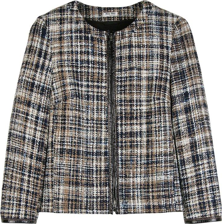 Miu Miu Wool Tweed Jacket