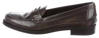 Tod's Patent Leather Slip-On Loafers