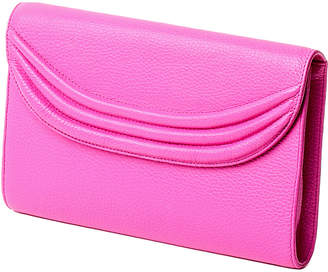 Ralph Lauren Cecchi Stretta Leather Clutch