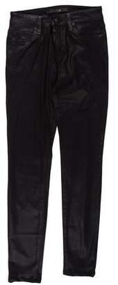 Joe's Jeans Mid-Rise Skinny Jeans