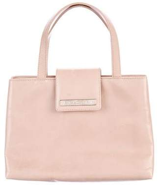 Bvlgari Leather Handle Bag
