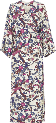 Elizabeth and James Howe Printed Kimono Dress $695 thestylecure.com