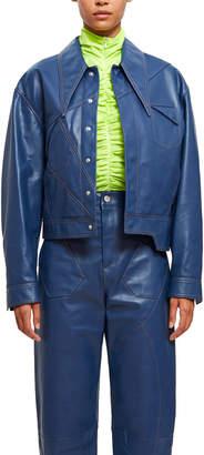 Pihakapi Leather Denim Blouson