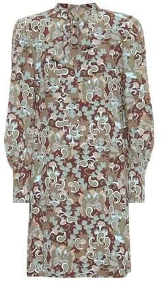 Chloé Printed crêpe dress