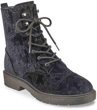 Indigo Rd Ryan Velvet Combat Boot - Women's