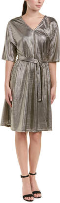Vero Moda Metallic A-Line Dress