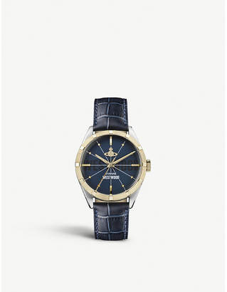 Vivienne Westwood VV192NVNV Conduit gold-toned stainless steel watch