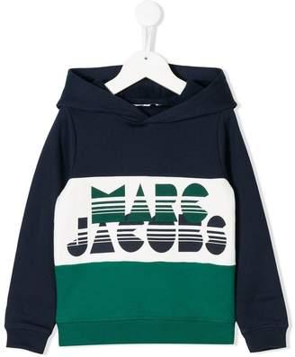 Little Marc Jacobs logo printed hoodie