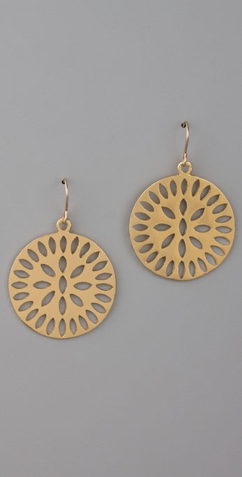 Gorjana Sunburst Earrings