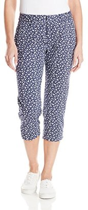 Dockers Women's Ideal Stretch Capri Pant $22.25 thestylecure.com