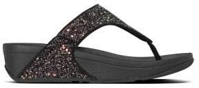 FitFlop Lulu Glitter Thong Sandals
