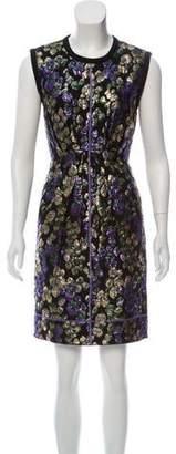 Marc Jacobs Metallic Knit Mini Dress