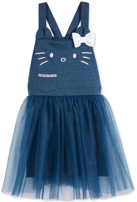 Hello Kitty Tulle Overall Dress, Toddler & Little Girls (2T-6X) $40 thestylecure.com