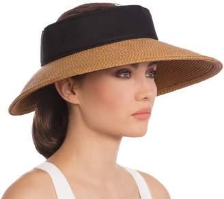 Eric Javits Luxury Fashion Designer Women's Headwear Hat - Halo Visor