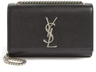 Saint Laurent Small Kate Grained Leather Crossbody Bag