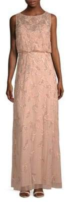 Adrianna Papell Sleeveless Blouson Gown