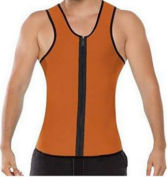 Acme Mens Body Training Tank Top Super Sweat Vest for Weight Loss