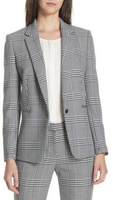 BOSS Jemaromina Glen Plaid Suit Jacket