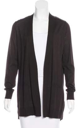 Akris Punto Wool Open-Front Cardigan
